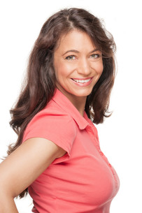 happy and smiling woman FYI00855289