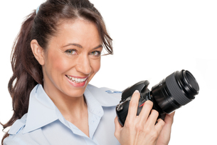 woman with camera FYI00855299