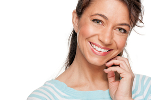 happy and smiling woman FYI00855303