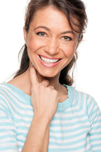 happy and smiling woman FYI00855362