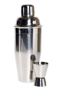 cocktail shaker with measuring cup FYI00871840