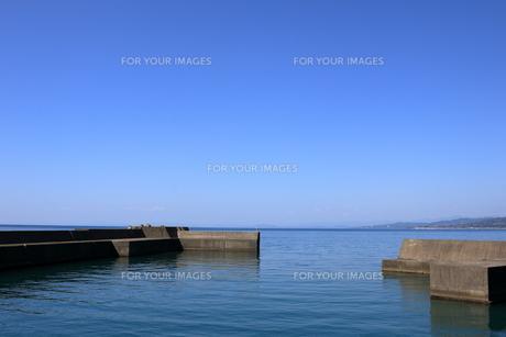 伊尾木漁港からの眺望 FYI00884557