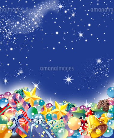 クリスマス飾りのの背景 FYI00884974