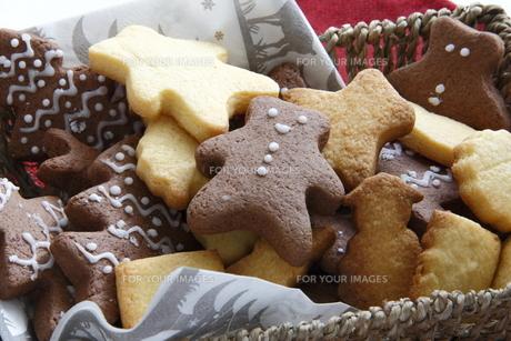 クリスマスのクッキー FYI00885289