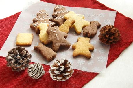 クリスマスのクッキー FYI00885290