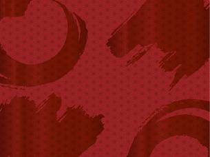 赤い和柄の背景素材 FYI00885925