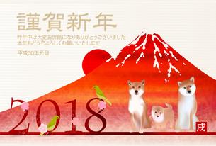年賀状2018 FYI00886588