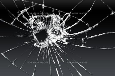 割れたガラス FYI00887425