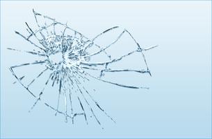 割れたガラス FYI00887428