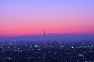 東京の夜景 FYI00889634