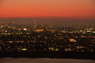 東京の夜景 FYI00889635