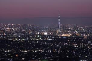 東京の夜景 FYI00889636