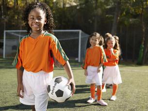 Girls  soccer team (portrait) FYI00900045
