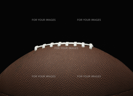 Close-up of American Football FYI00905206