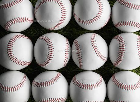Baseballs in Rows FYI00905384