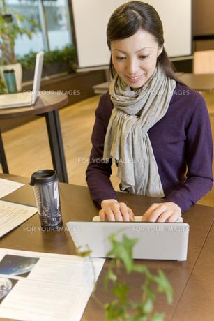 パソコンをしている女性 FYI00913604