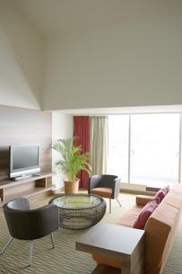 観葉植物の置いてある部屋 FYI00918123