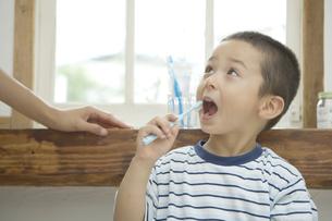 歯磨きをする男の子 FYI00919164