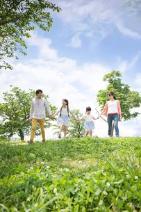 ピクニックをする家族 FYI00922598