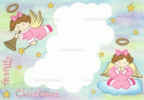 クリスマスイメージ カード イラスト FYI00930670