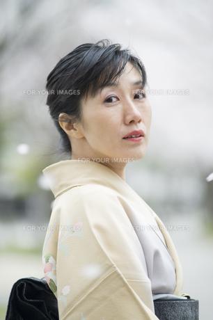 和服の日本人女性 FYI00934876