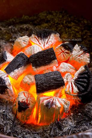 炭火の素材 [FYI00944908]