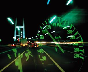夜の高速道路 FYI00955156