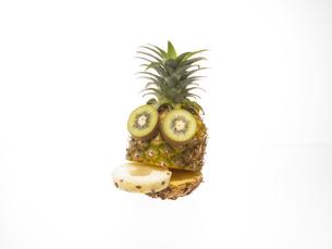 果物で作った顔 FYI00958353