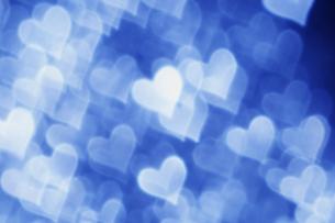 青いハートのコラージュ FYI00980923