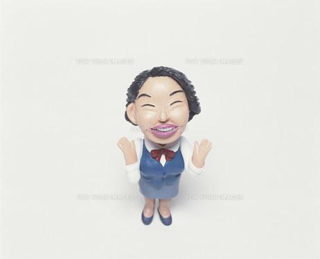 笑顔のOLのクラフト FYI00986229