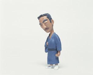 着物の中高年男性のクラフト FYI00986231