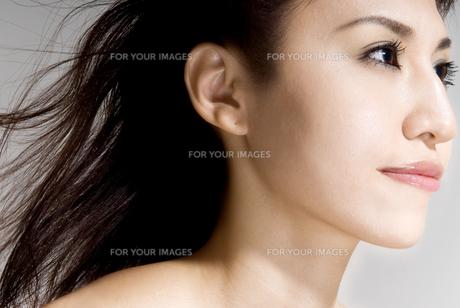 女性のアップ FYI00993950