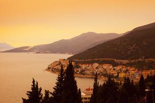 アドリア海の夕景 FYI01005398