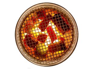 燃える炭 FYI01008835