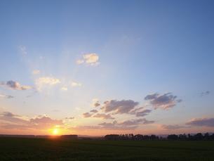 夕焼け雲 FYI01015647
