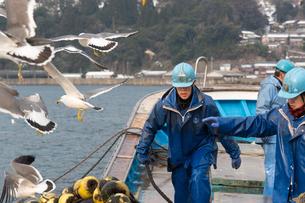 作業する漁師 FYI01030324