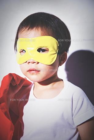 ちびっこスーパーマン出動の瞬間 FYI01034338