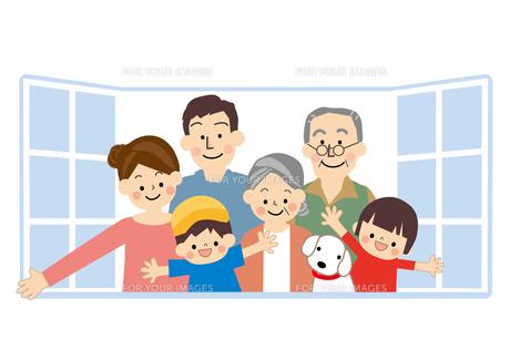 家族 窓 FYI01043744