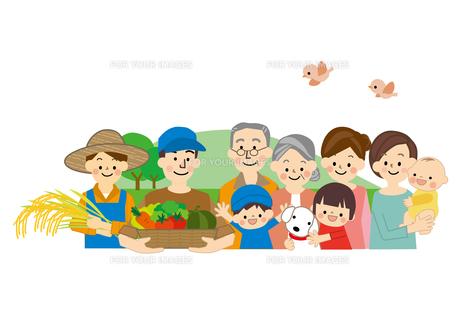 農業 男性と女性 食の安全 FYI01043754