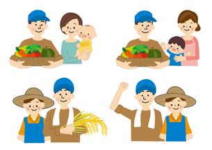 農業 男性と女性 食の安全 FYI01043812