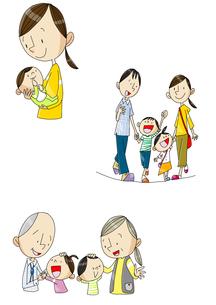 女性の一生 出産と育児と老後 FYI01046235