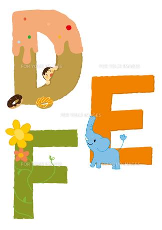 アルファベットDEF FYI01050418