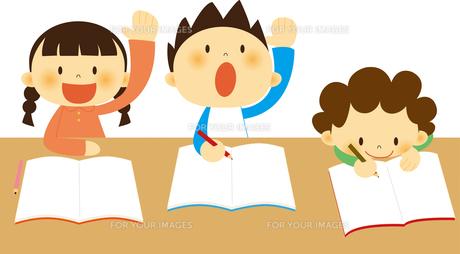 授業中の子どもたち FYI01050486