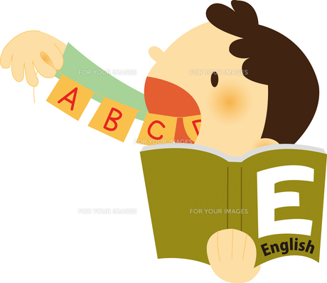 英語を勉強する子ども FYI01050505