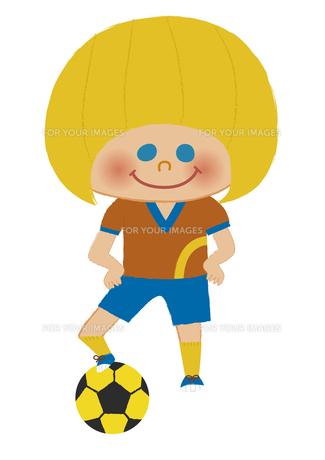 サッカー少年 FYI01051576