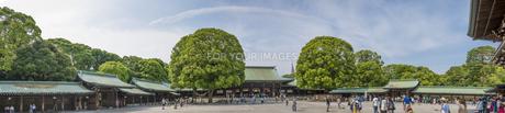 明治神宮・御社殿-パノラマ FYI01057102
