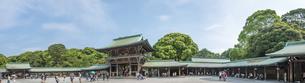 明治神宮・御社殿の内側より入口側-パノラマ FYI01057116