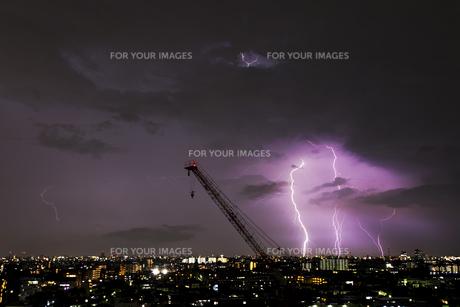 夜の雷 FYI01057161