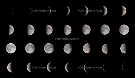 月の満ち欠け FYI01060970