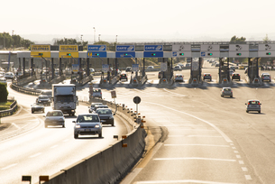 イタリアの高速道路ゲート FYI01080060
